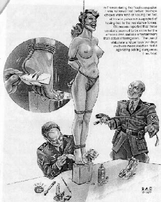 Sexual torture by nazi