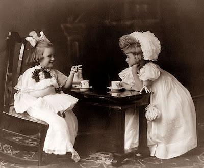 Little Bear Studio Victorian Tea Party