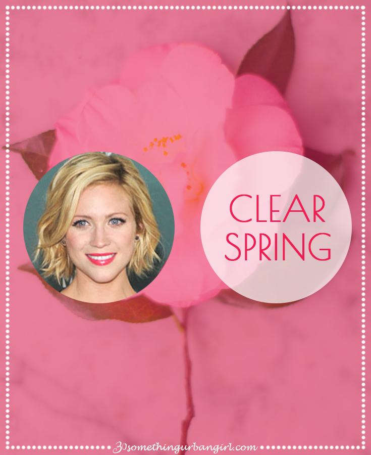 Clear Spring seasonal color palette description by 30somethingurbangirl.com