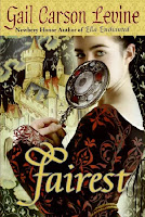 Fairest by Gail Carson Levine book cover