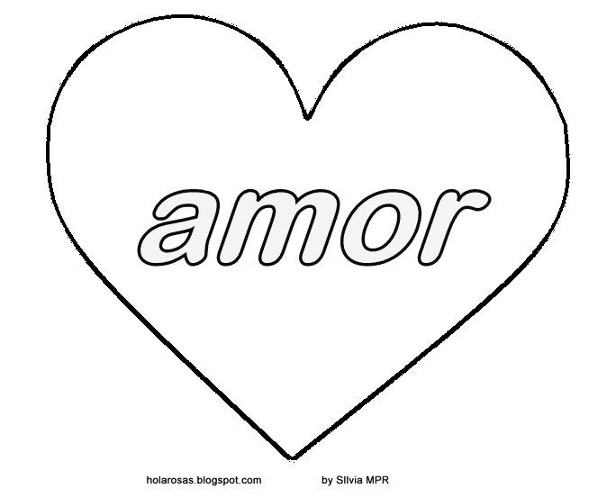Imagenes De Amor: Dibujos De Amor Para Colorear :corazones
