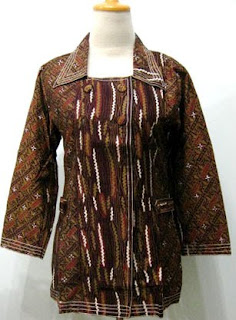 Model Baju Batik Modern Lengan Panjang Koleksi Model Baju Kebaya