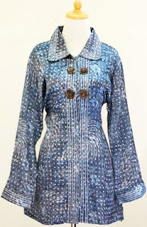 Javanese Batik Clothes Trend Atasan Batik Lengan Panjang BRENDA