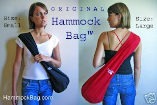 I Like The Idea Of An Ergonomic Sling Hammock Bag Especially For My Yoga Stuff Also Available On Ebay