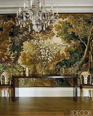 Aerin Lauder entrance designed by Jacques Grange