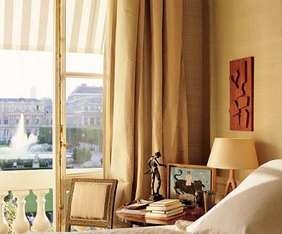 Jacques Grange bedroom design