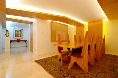 Modern Interior Dining Room Ideas Apartment
