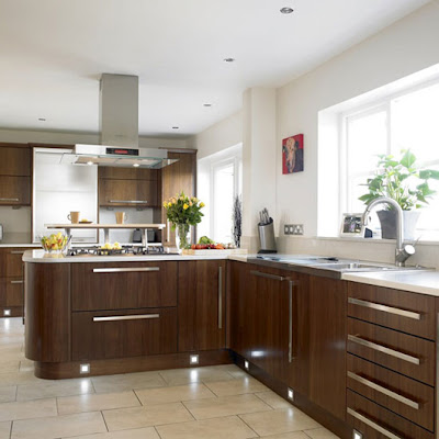 interior design small walnut kitchen