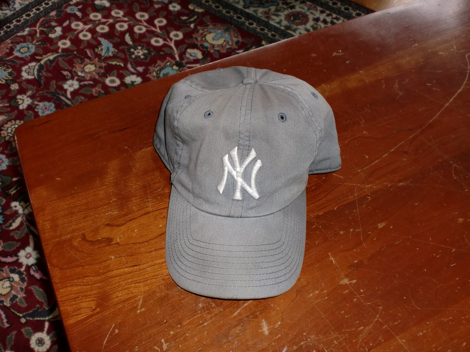 fb0d3170ce Meet my Yankees hat. Its old and faded and maybe a bit ugly.