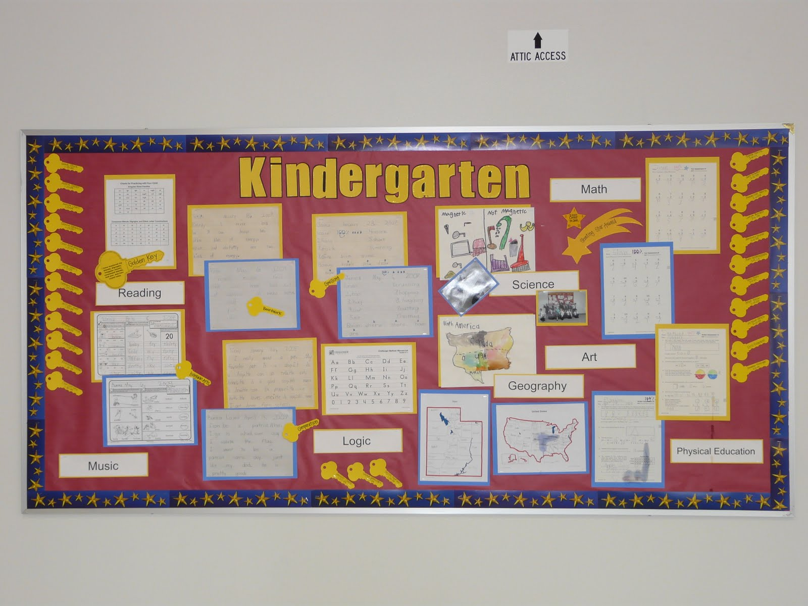 Bulletin Board Ideas: Kindergarten