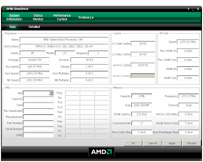 AMD Overdrive 2.0.7 Download
