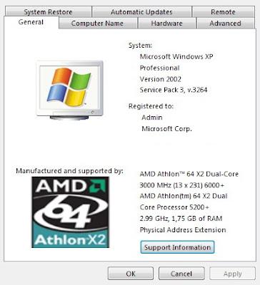 Windows XP Service Pack 3 RC 3264 - Windows XP SP3 3264