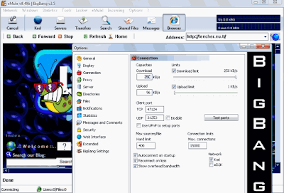 eMule 0.49b BigBang v2.5 UseNext.de Ads mod - Ads removed, NoRatio