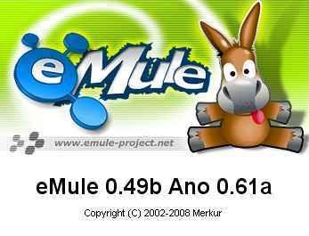 eMule 0.49b Ano 0.61a