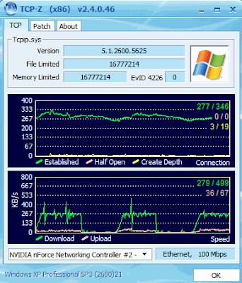 TCP-Z 2.4 Build 20090108 Released