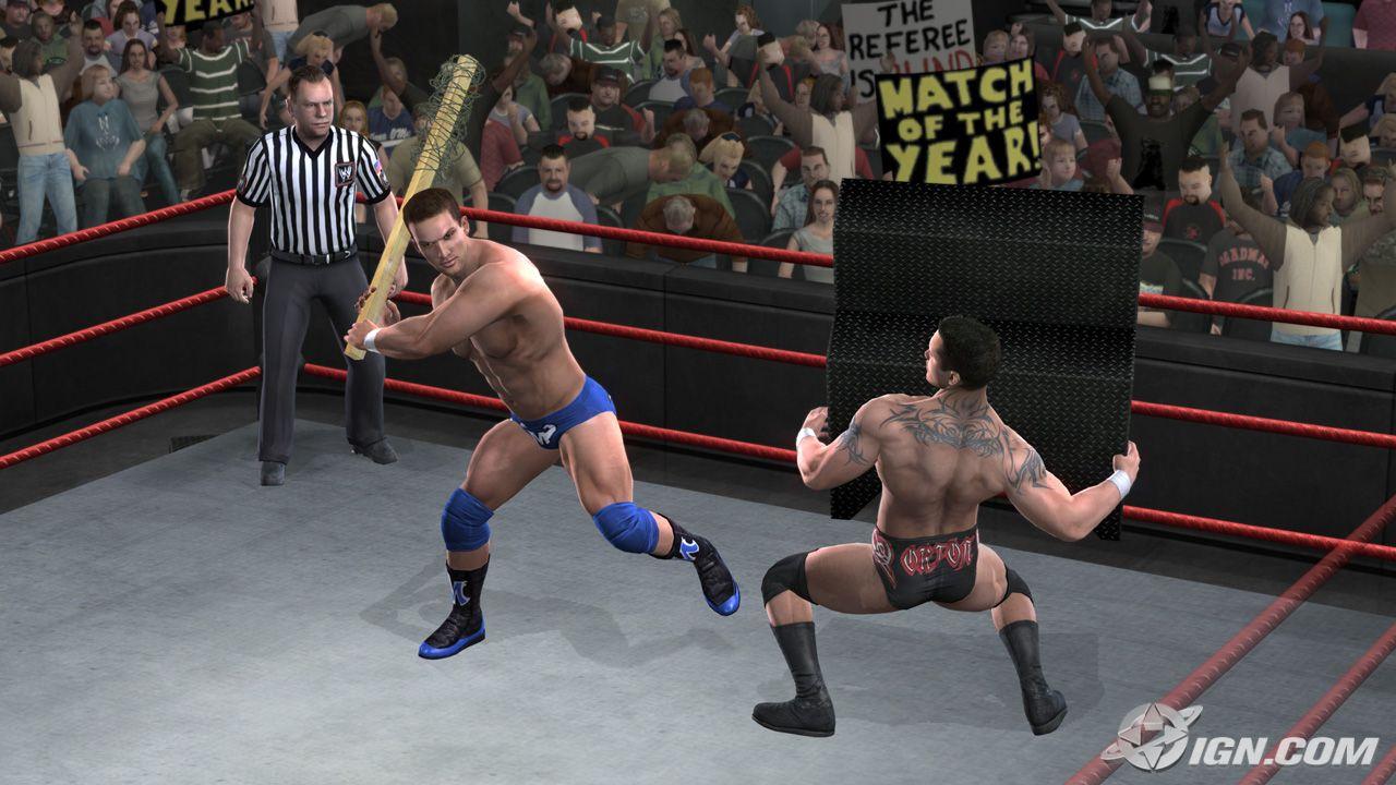 WWE Smackdown vs Raw 2008 - PS2