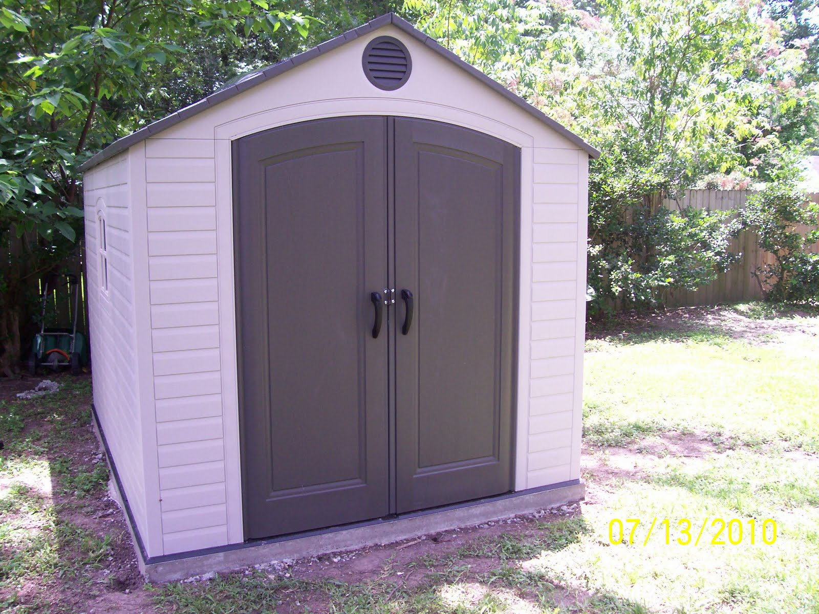 Exterior Finish Slabs Amp Portable Sheds Sure