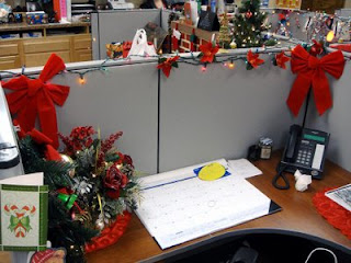 Cubicle Decoration Competition In Office  New Home Ideas- Influenza A virus subtype H5N1 Clean Compotition Christmas Decorating Themes Ideas