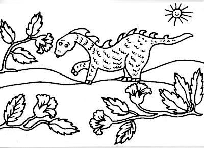 Dibujos Gratis Para Imprimir Y Colorear De Dinosaurios 圖片
