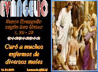 Resultado de imagen para En aquel tiempo, al salir Jesús de la sinagoga, fue con Santiago y Juan a casa de Simón y Andrés.