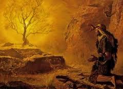 zarza, Moisés, enseñanza carro de Israel