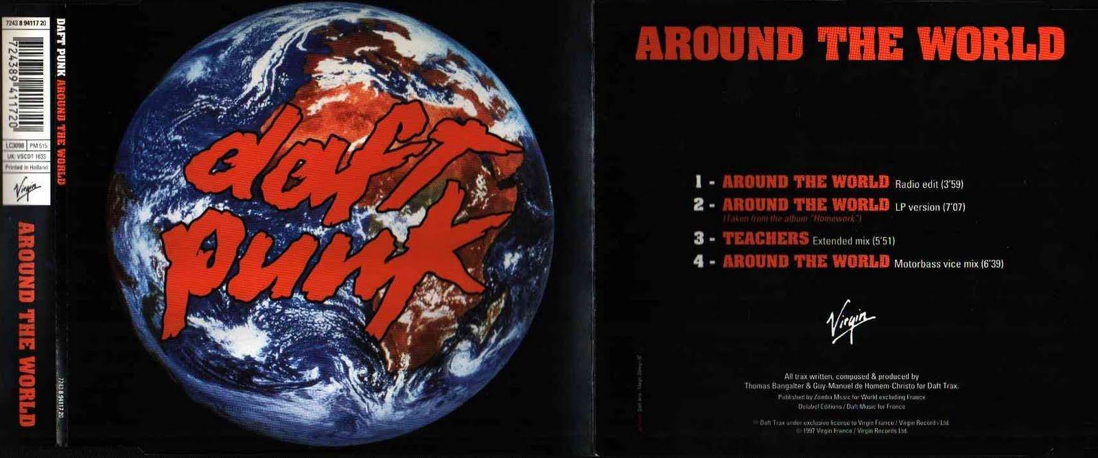 daft punk 1997 - Around The World (CD Single)   FULL LP ...