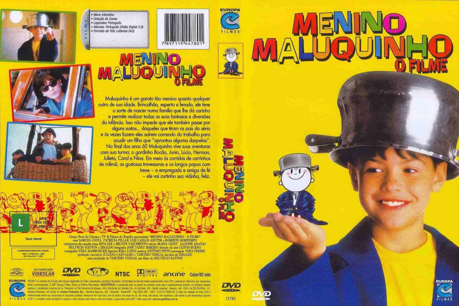 Menino Maluquinho - O Filme movie