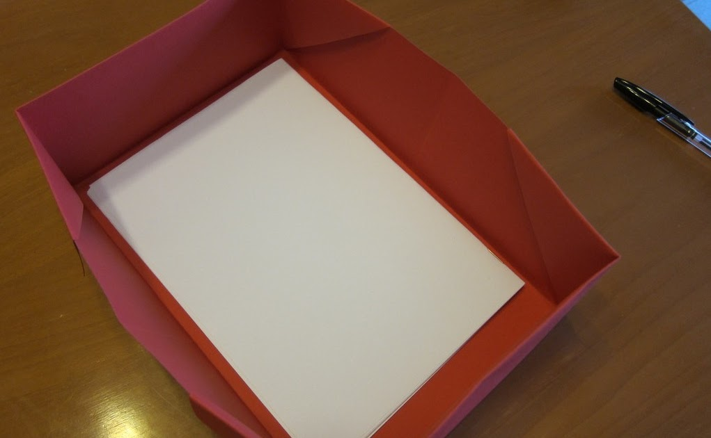 Origami A5 (booklet size) paper inbox