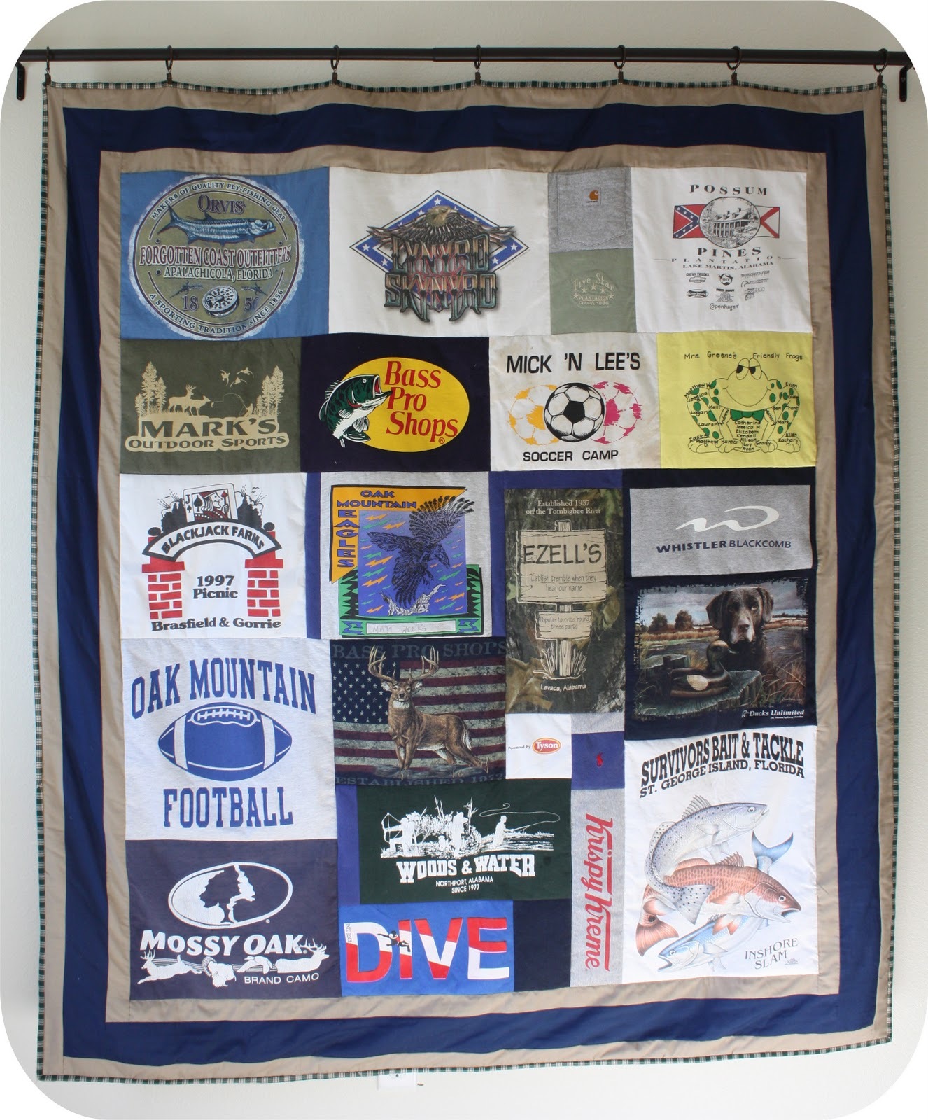 The Dixie Chicken Quilts How To Make A T Shirt Quilt My