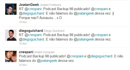 citacao joatan geek podcast backup
