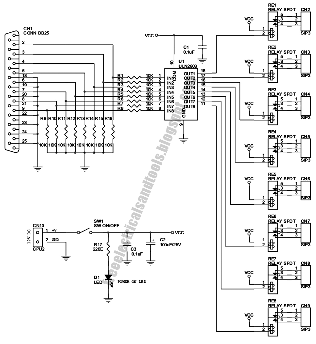 Free Schematic Diagram 12 01