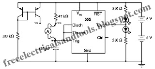 only wiring and diagram: 555 Ramp Generator Circuit