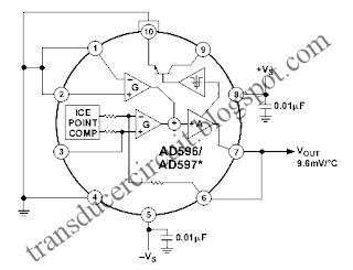 AD586/597 Temperature Transducer (Sensor) ~ Transducer