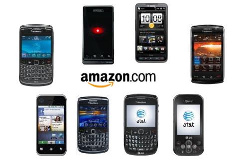 amazon s best selling smartphones 2010. Black Bedroom Furniture Sets. Home Design Ideas