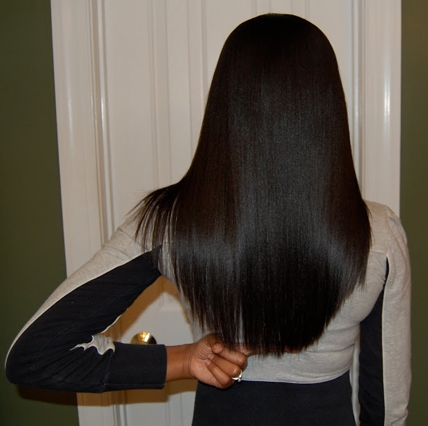 coarse hair long