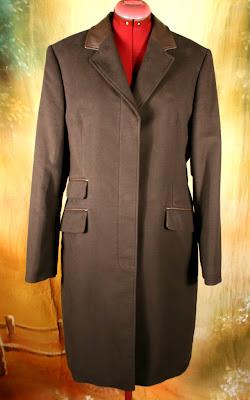 Women's Barbour Covert Overcoat, New, Size 14 UK/12US