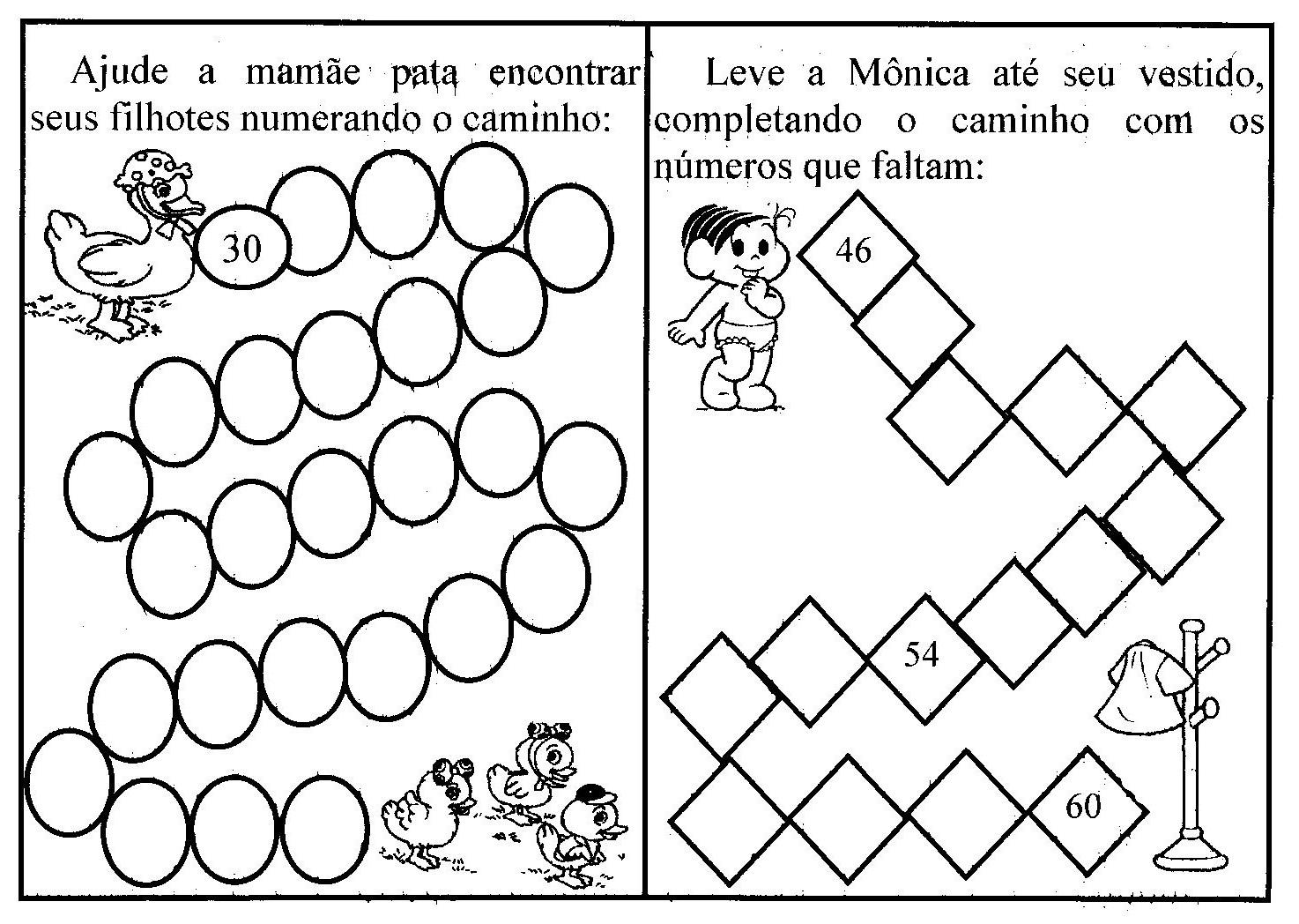 Blog Dona Amiguinha Atividades De Matematica