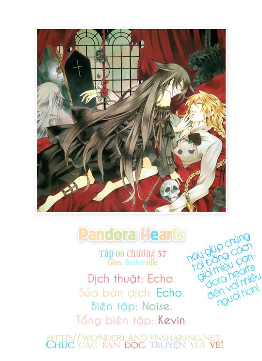Pandora Hearts chương 037 - retrace: xxxvii glen baskerville trang 1