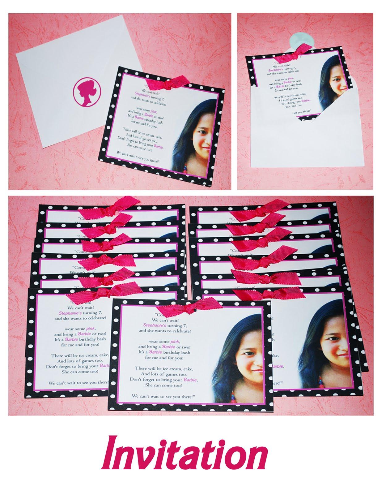 Creative Ms Red Stephanie S Barbie Birthday Bash 7th