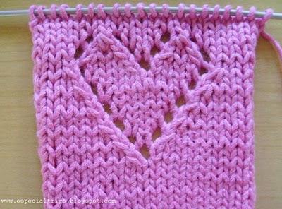 como fazer lacada em trico