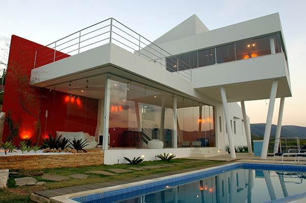 Fachadas de casas bonitas for Casa moderna wiki