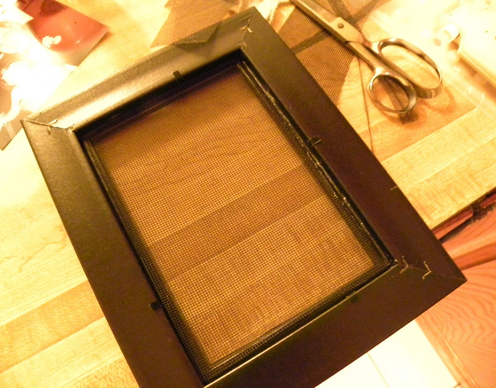 From The Hive Earring Holder From A Frame