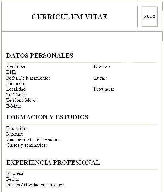 Como Hacer Un Curriculum Vitae Atrayente Encarni Gonzalez Ledesma
