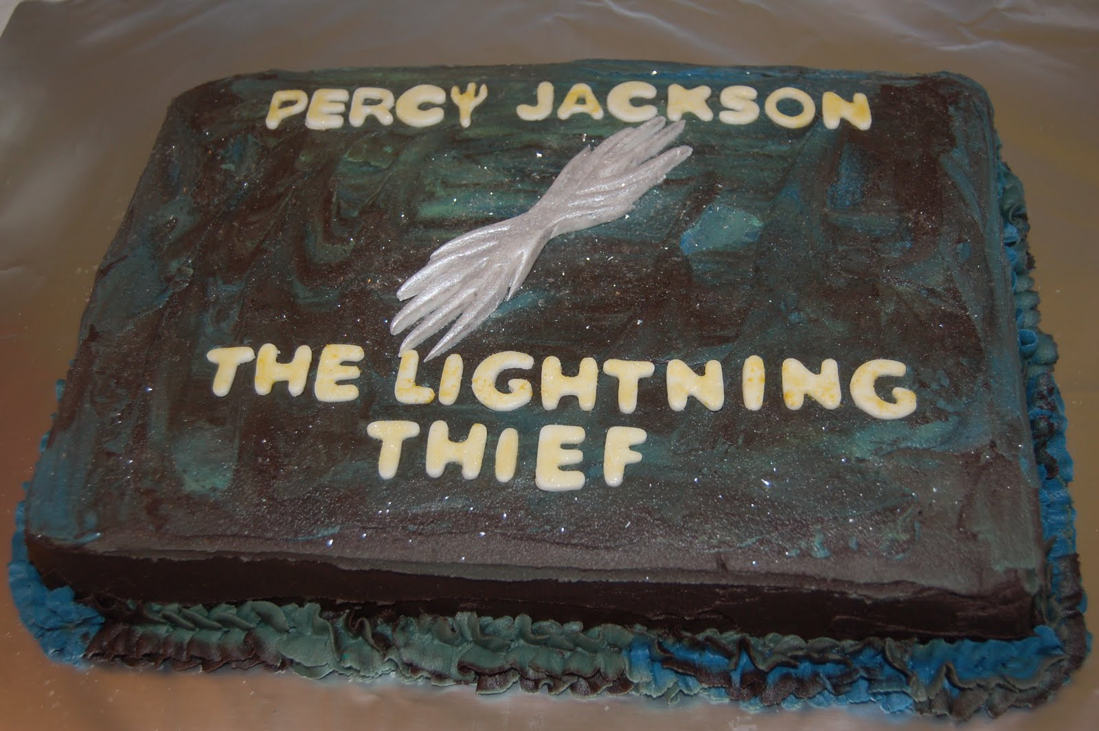 I Decorate Cakes Percy Jackson