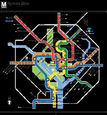 Art World Washington D C Metro Map