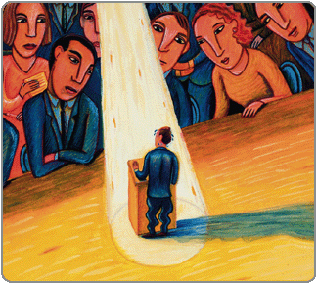 Glossophobia fear and early traumatic events