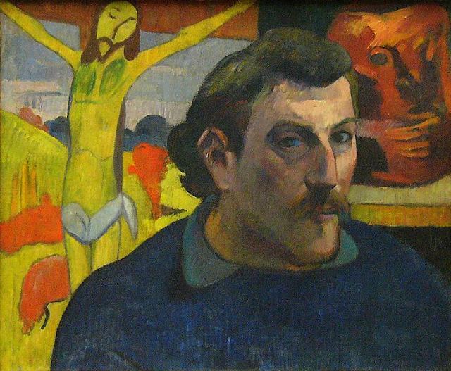 Resultado de imagem para obras de paul gauguin autoretrato