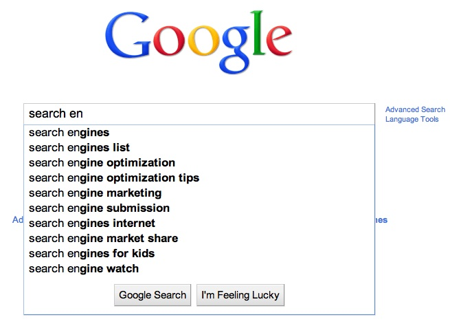 an internet search engine looks for a certain keyword