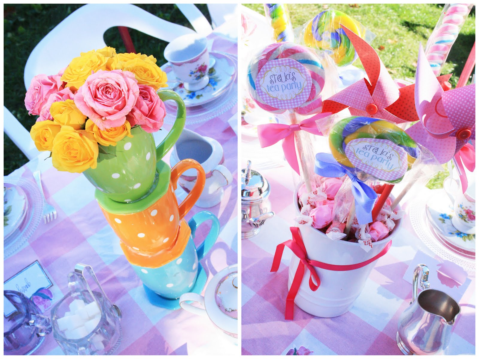Tea Party Decorations Darling Darleen A Lifestyle