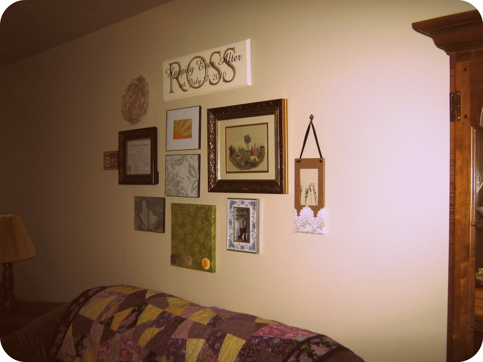 I 39 m old fashioned above the couch decor - Over the couch decor ...